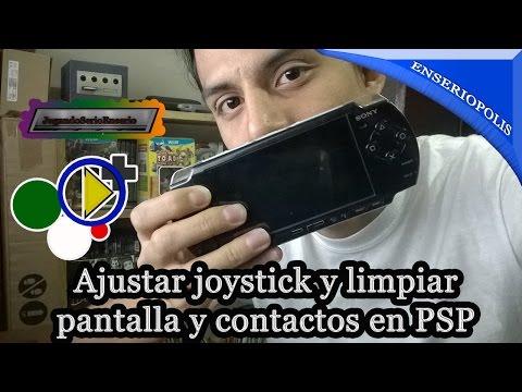 Ajustar joystick y limpiar pantalla y contactos de botones en PSP   Enseriopolis