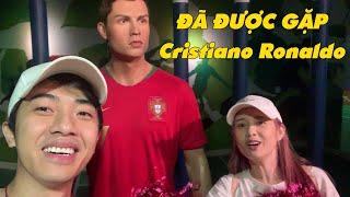 CrisDevilGamer và Mai Quỳnh Anh ĐƯỢC GẶP Cristiano Ronaldo
