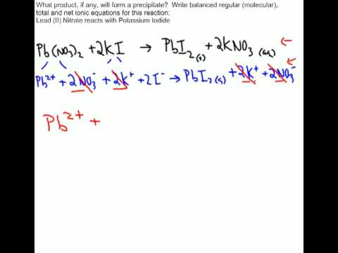 writing net ionic equations calculator Net ionic equations are useful in that they show only those chemical species participating in a chemical reaction the key to being able to write net ionic equations is the ability to recognize monoatomic and polyatomic ions, and the solubility rules.