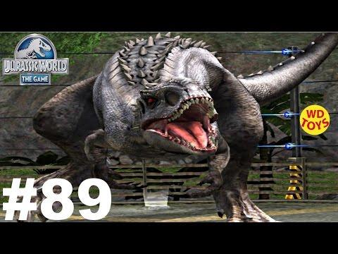 New Jurassic World The Game -  Episode 89 Vs Indominus Rex Gameplay Walkthrough  - WD Toys