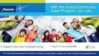 Avista Community Solar Online Registration Tutorial