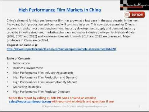 China High Performance Film Market 2022