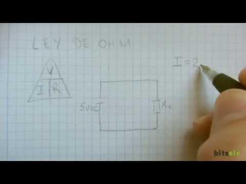 [RESISTENCIAS] 4.Ley de Ohm (Electrónica esencial)