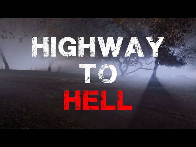HAUNTED ROAD GHOST HUNT 👻📹(HIGHWAY TO HELL)