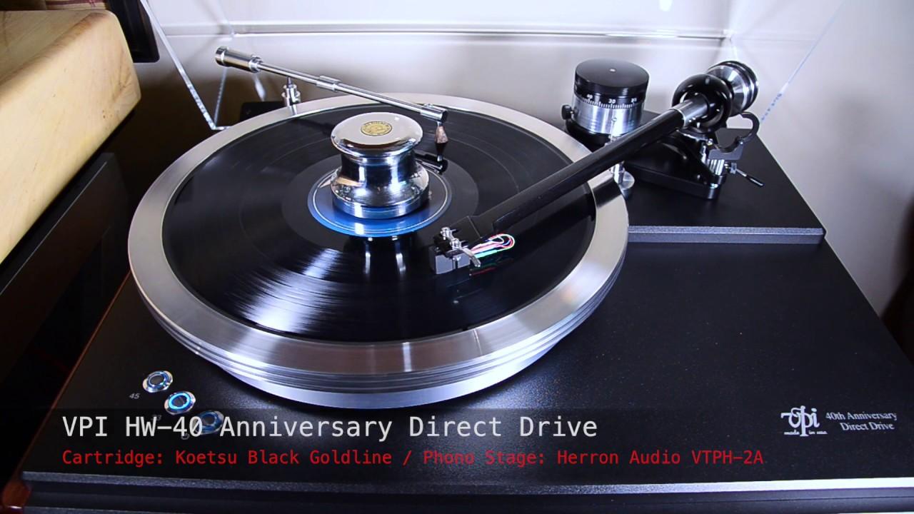 Riviera Paradise - Stevie Ray Vaughan [VPI HW-40 Anniversary Direct Drive]