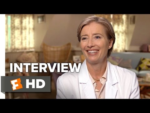 Bridget Jones's Baby Interview - Emma Thompson (2016) - Comedy