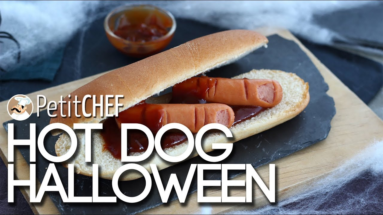 Hot dog sanguinanti - Ricetta per Halloween, Tutorial cucina ...