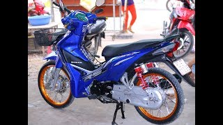 Honda Wave 110i Blue - Walkaround