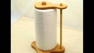 Towel Holder Ideas Paper Towel Holder Wood
