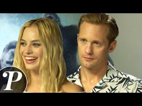[INTERVIEW] Alexander Skarsgård et Margot Robbie: Tarzan et Jane, irrésistibles !