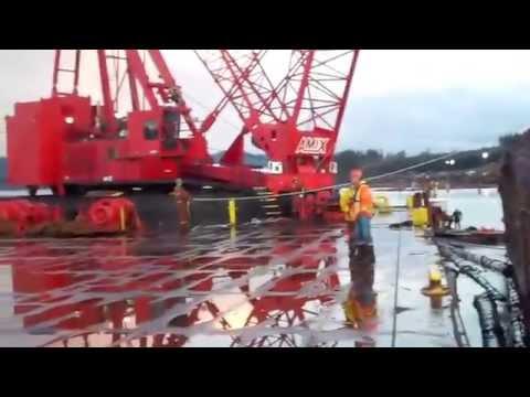 Amix Heavy Lift Menzies Bay 2011