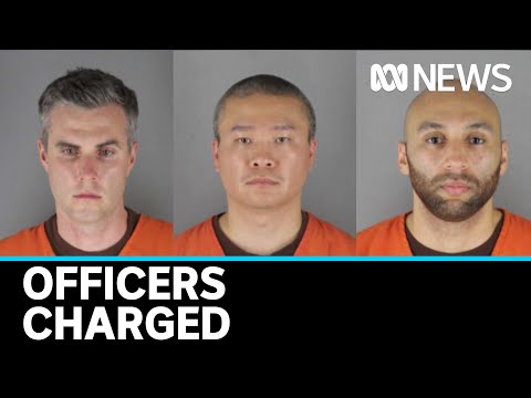 Murder Charge Upgraded, Three Others Charged Over George Floyd's Death | ABC News