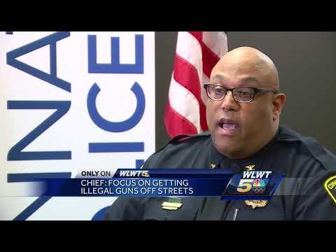 Cincinnati police chief: Focus on getting illegal guns off streets