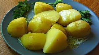 Молодая картошка как же варить и чистить