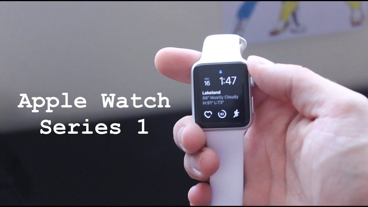 apple watch series 1 unboxing youtube. Black Bedroom Furniture Sets. Home Design Ideas