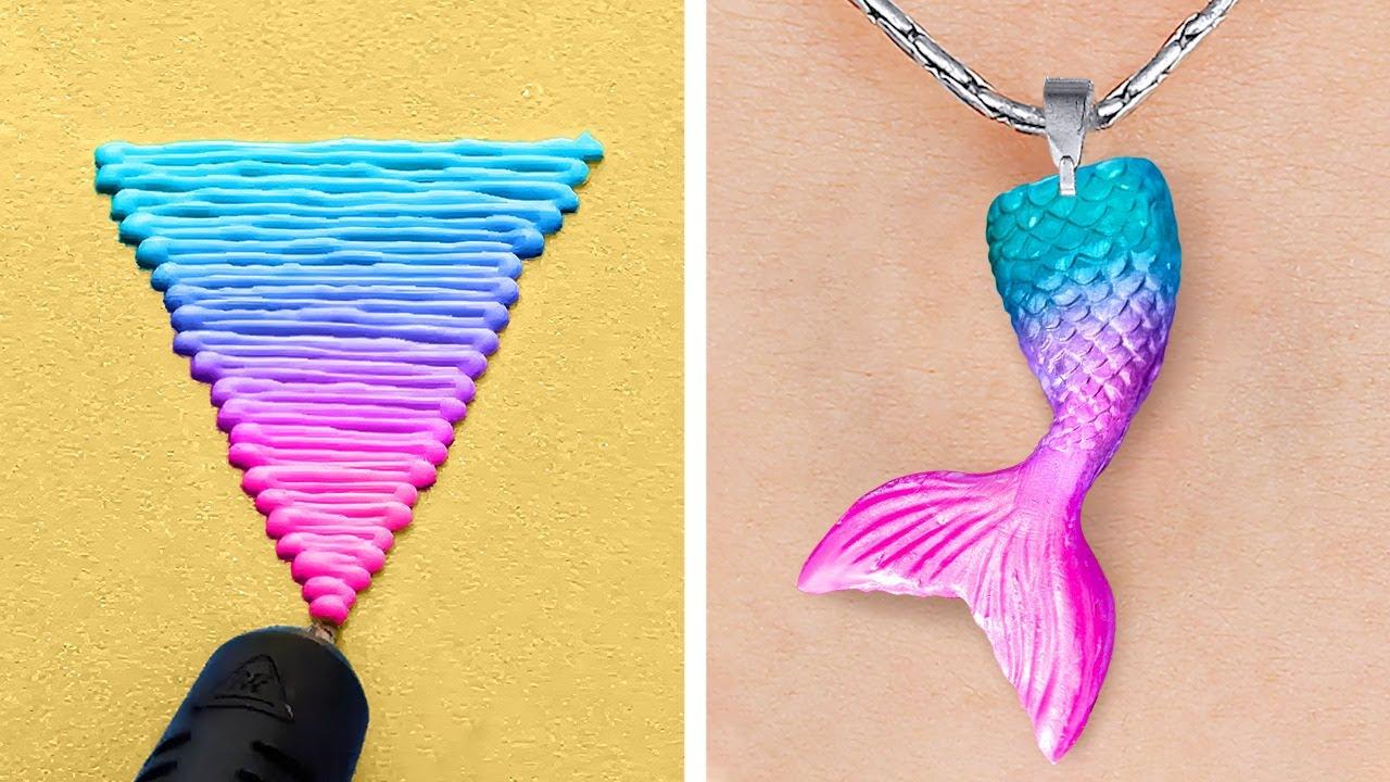 Download Fantastic 3D-Pen And Glue Gun DIY Crafts || Mini Crafts, DIY Jewelry And Repair Tricks