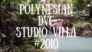 DISNEY'S POLYNESIAN VILLAS | DVC STUDIO TOUR | STANDARD VIEW ROOM 2010 | Feb 2019