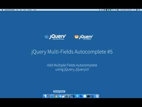 JQuery Autocomplete With Multiple Input Fields Using Ajax, PHP, MySQL #5