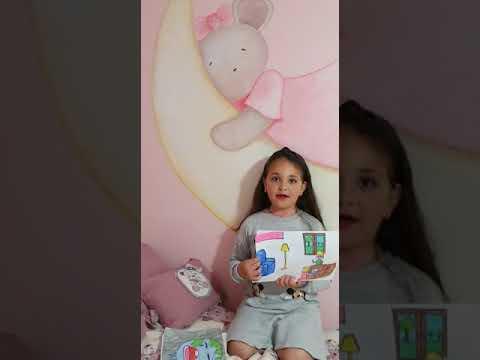 Daniela Gavira Sánchez, vecina de Taraguilla de seis años nos coniencia