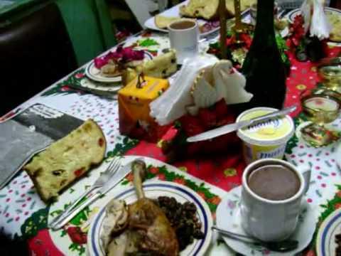 Nuestra cena navide a 2009 en casa familia bringas for Cosas navidenas para hacer en casa