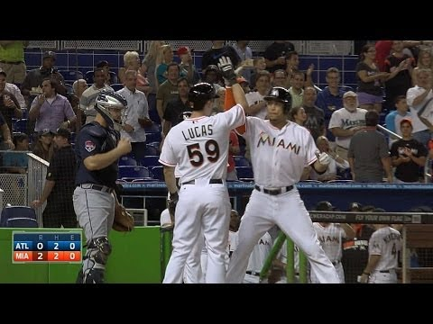 Stanton puts Marlins up early with homer