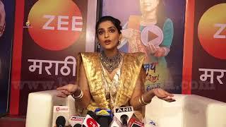 Sonam Kapoor Reaction on PADMAN vs Padmavati Clash | Competition hona Jaruri hain