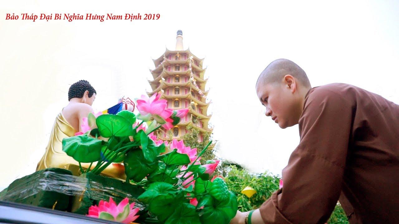 CHÙA PHÚC LỘC( THÁP ĐẠI BI) NGHĨA THỊNH NGHĨA HƯNG NAM ĐỊNH 2019