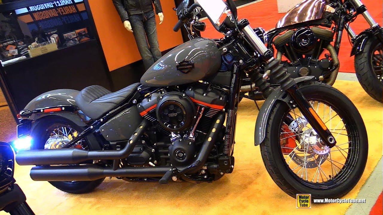 2018 harley davidson street bob customized walkaround 2018 montreal motorcycle show youtube. Black Bedroom Furniture Sets. Home Design Ideas