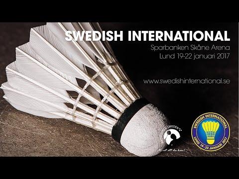 Mattias Wigardt vs Mads Christophersen (MS, Qualifier) - Swedish International 2017