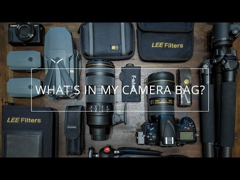 Landscape Photography - What's in My Camera Bag? 2017