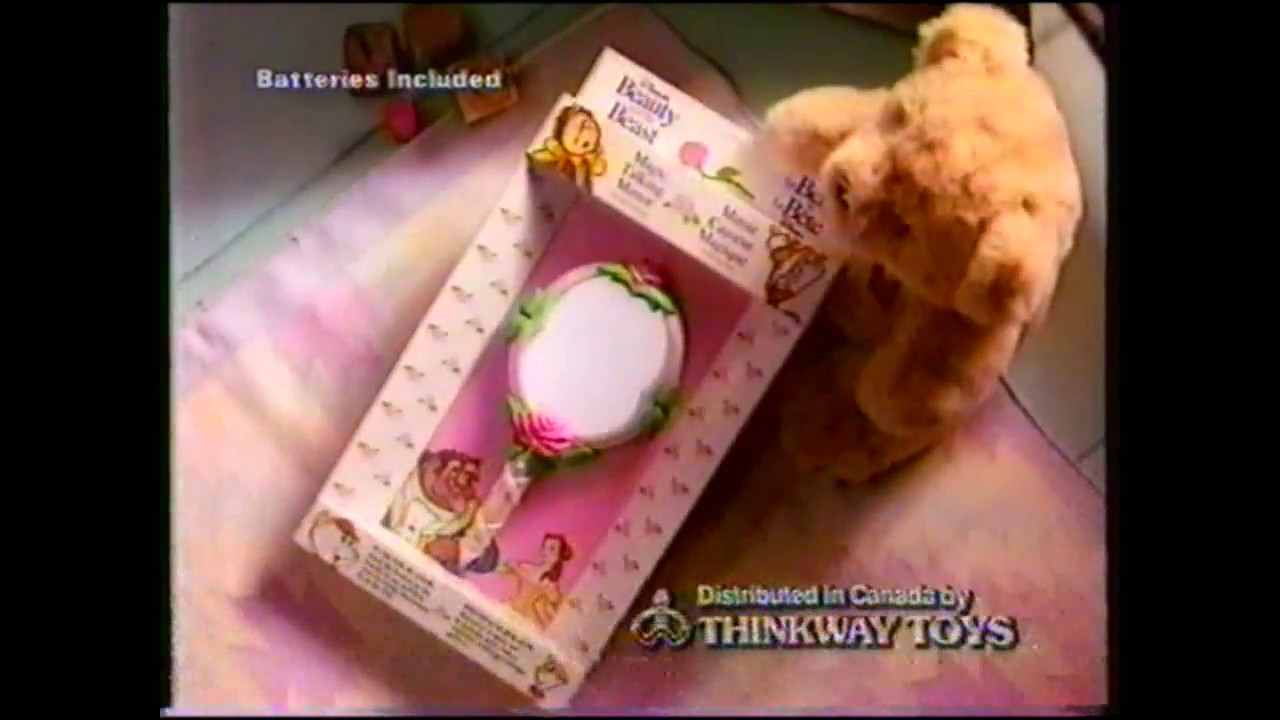 Beauty And The Beast Magic Talking Mirror Toy Commercial 1992 Youtube