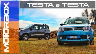 Fiat Panda 4x4 Cross Vs Suzuki Ignis 4x4 Ibrida