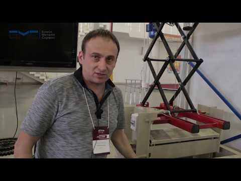 Блеск Металл Сервис на выставке Машиностроение.  Металлургия2016