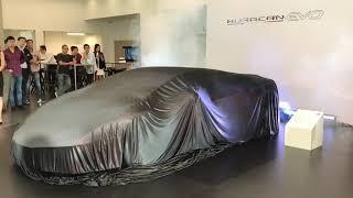 2019 Lamborghini launched the new Lamborghini Huracan EVO Unveiling Preview