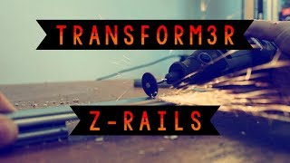Transform3r 3D PRINTER - Z Rails Installation