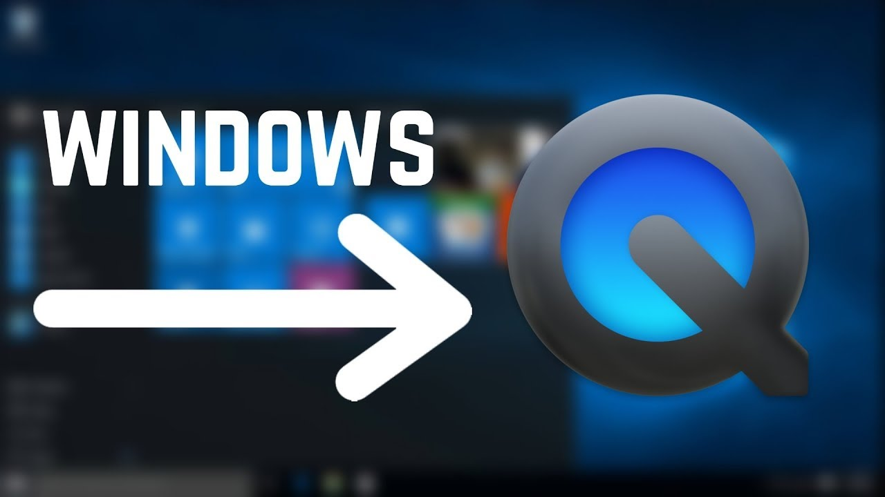 How to install QuickTime For Windows (2018)
