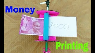 Money printing machine 2000 RS note INDIA By MR. RAWAT SAA