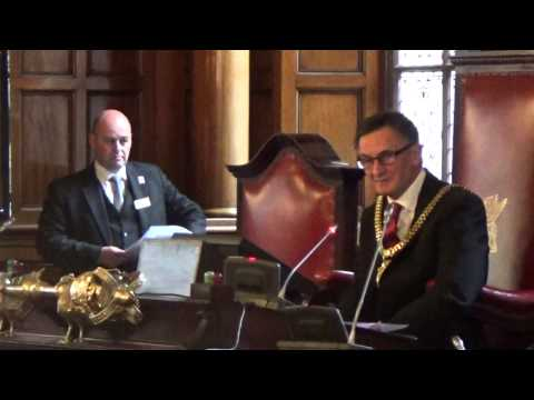 Liverpool City Council Annual Meeting 27th May 2015 Part 1 of 2