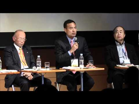 """03 PART2 3 Panel Discussion: """"Japan on the Global Stage"""""""