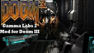 DOOM 3: Gamma Labs Level 2 (Mod for Doom III) - NO DEATH RUN (ALL SECRETS) (Complete Walkthrough)