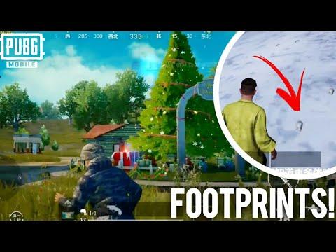 Christmas Trees And Footprints Vikendi Update Pubg Mobile 0 12