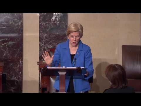 Sen. Elizabeth Warren's Floor Speech on Attorney General Nominee Sen. Jeff Sessions