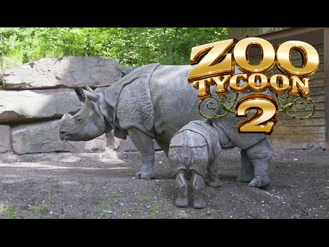 Zoo Tycoon 2: Indian Rhinoceros Exhibit Speed Build