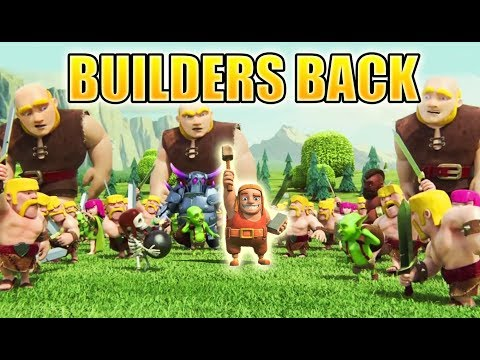Clash of Clans Mini Story   The Builder is Back!!! - Missing Builder Sent Home from Real World   CoC