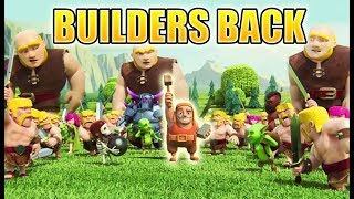 Clash of Clans Mini Story | The Builder is Back!!! - Missing Builder Sent Home from Real World | CoC