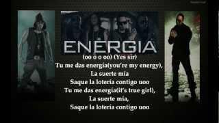 Alexis & Fido Ft Wisin & Yandel - Energia(Letra).wmv