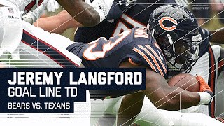 Jeremy Langford Powers through the Texans for Goal Line TD! | Bears vs. Texans | NFL