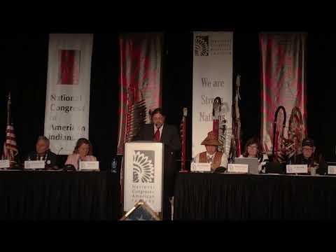 John Tahsuda - New Director at Bureau of Indian Affairs - October 16, 2017