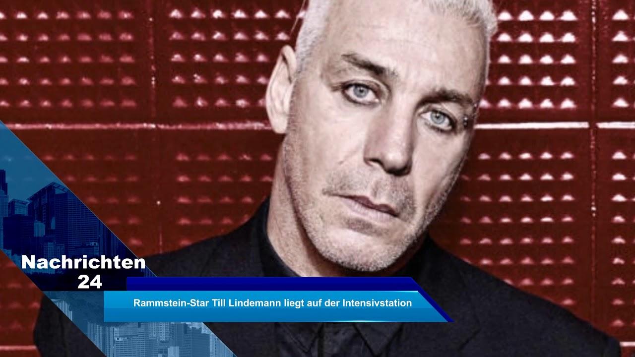 Rammstein-Star Till Lindemann liegt auf der Intensivstation