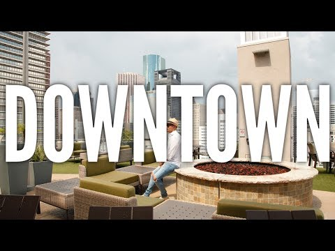 Houston Apartment Tour 003 - Downtown - Apartments Of Houston Vlog
